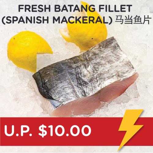 Flash Deal: Fresh Batang Fillet (Spanish Mackeral)  马当鱼片