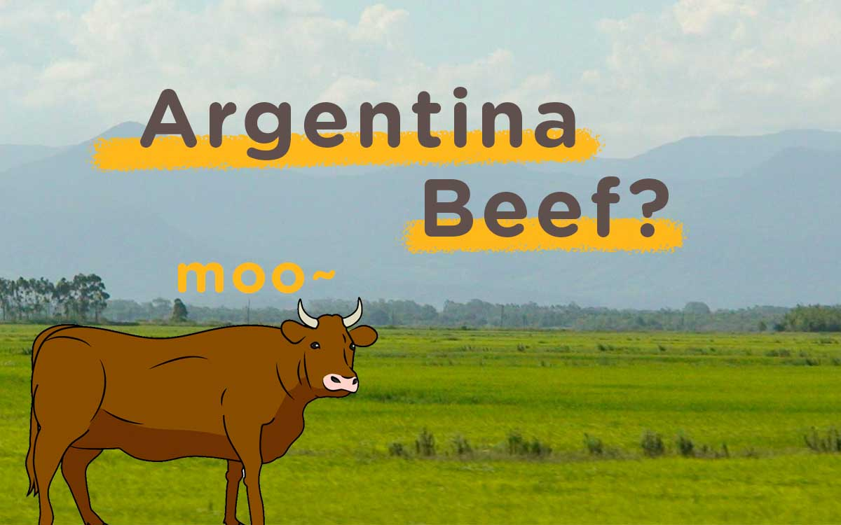 Aw Teach You: Beef Diaries, Argentine Beef?
