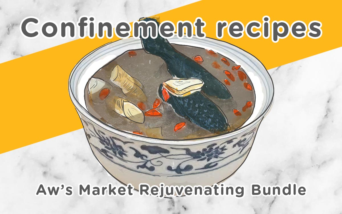 Rejuvenating Recipes for Confinement Mommies
