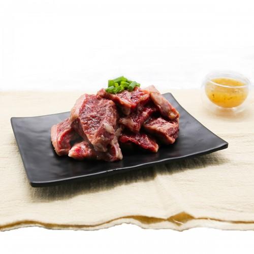 Smoky Leek Beef Shortribs Slices